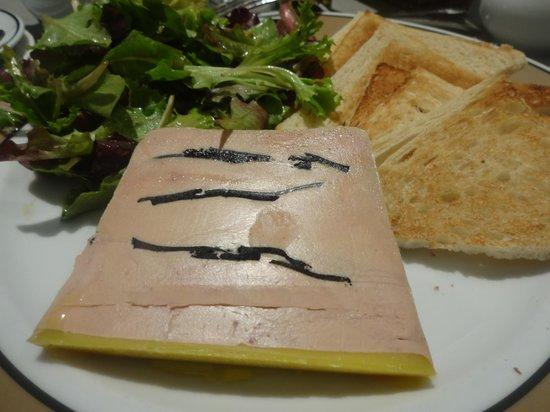 Maison de la Truffe:                   Foie Gras. 60 euros!
