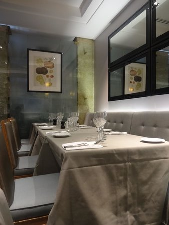 Maison de la Truffe:                   Dining area