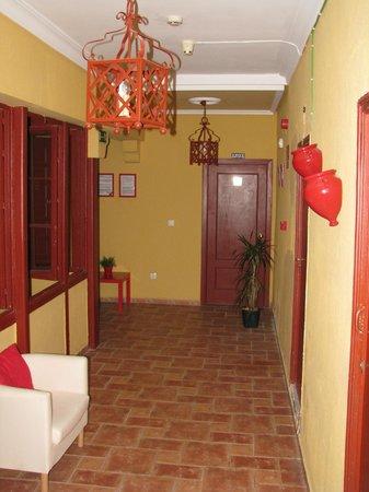 Las Palomas Hostal:                   Hallway