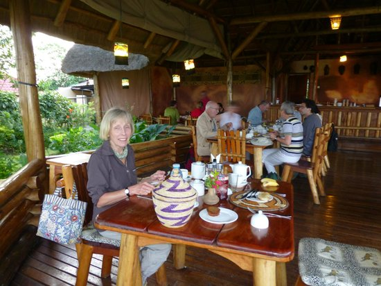 Katara Lodge:                   Breakfast room