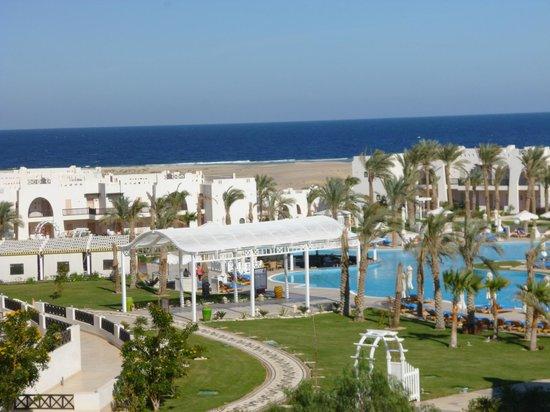 Hilton Marsa Alam Nubian Resort:                   The main pool