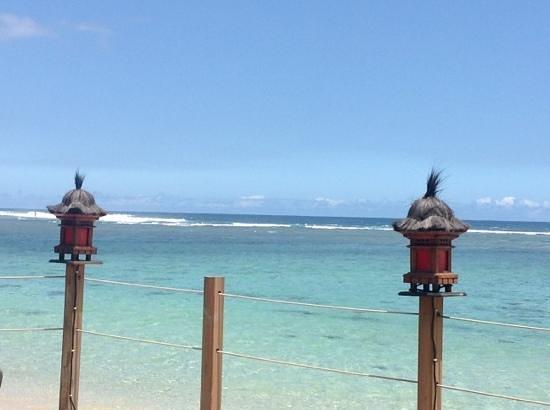 L'Hacienda - Coco Beach:                   vue de la terrasse. top non ?