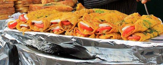 Food Tour in Delhi: Besan Cheela