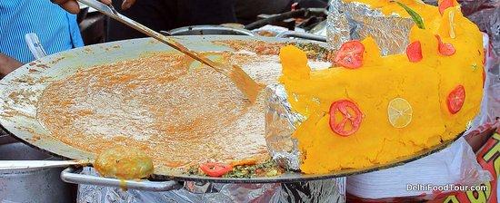 Food Tour in Delhi: Paav Bhaaji