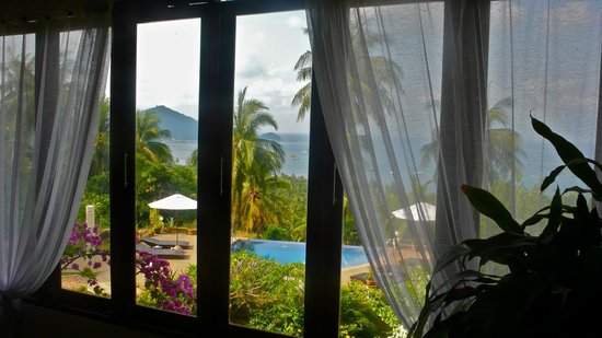 The Rocks Villas: View from living room