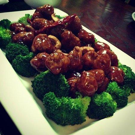 "CoCo Lin Vegetarian House:                   General Tso ""chicken"""