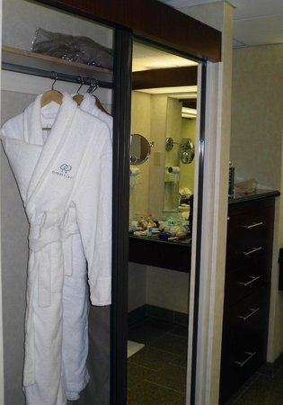 Doubletree by Hilton Anaheim - Orange County:                   Master Bath Closet