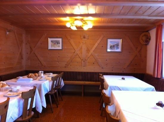 Gasthof Al Bagn: Frühstücksraum
