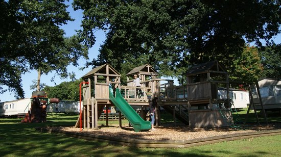 """Cheverton Copse Holiday Park: """"The Copse"""" Timber Play Area"""
