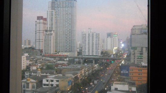 Bangkok City Hotel:                   the view from 11th floor
