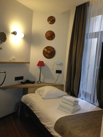 Hotel Saint-Gery :                                     Single bedroom