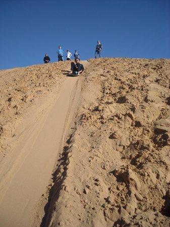 Sunraysia Resort:                   Thrilling sandhill slides