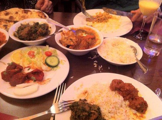 Kismot:                   Good choice of dishes