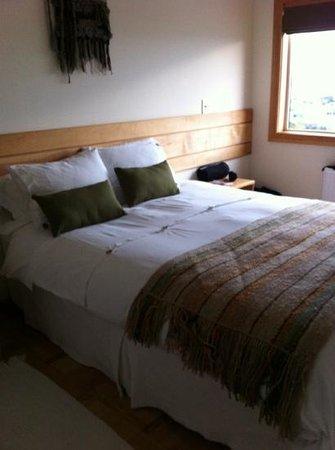 Hotel Temauken:                   comfy beds