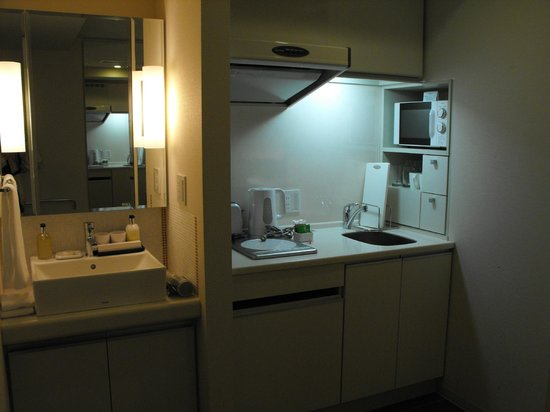 Citadines Karasuma-Gojo Kyoto:                   Kitchen & bathroom sink