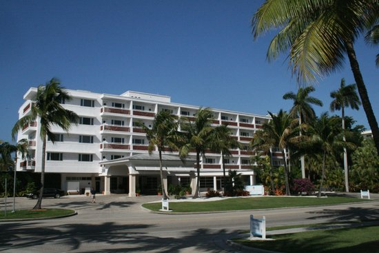 The Naples Beach Hotel & Golf Club:                   Hotel entrance