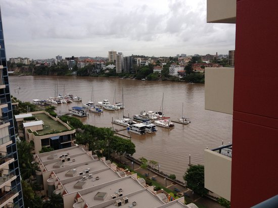 Central Dockside Apartments :                   view of the river