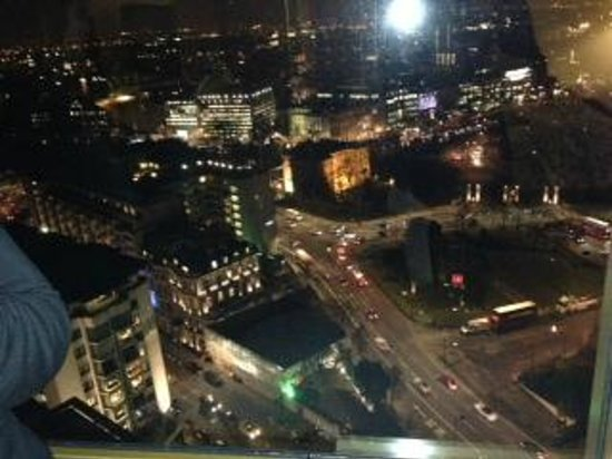 London Hilton on Park Lane:                   The View from London Hilton Park Lane 22nd Floor