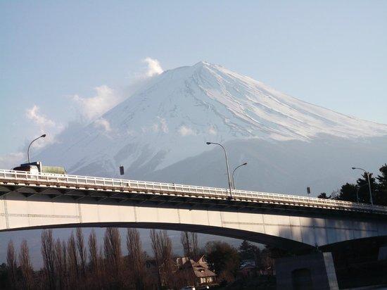 Lake Kawaguchi Ohashi Bridge
