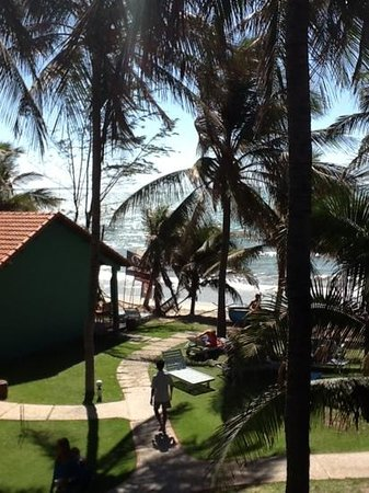 Hiep Hoa Resort:                   view from the rooms upstairs