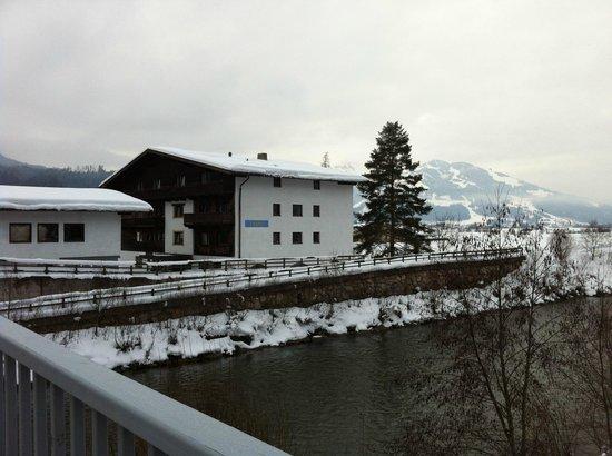 Tasma Hotel:                   From the bridge
