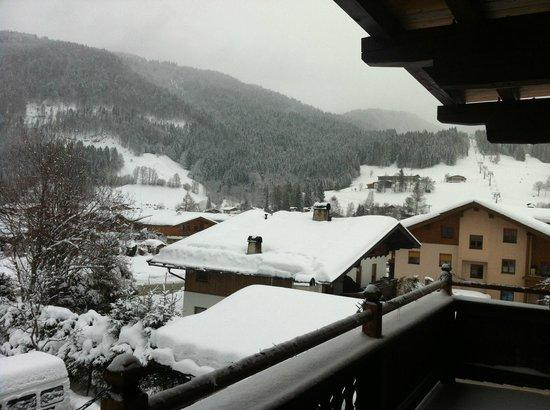 Tasma Hotel:                   View of ski lift
