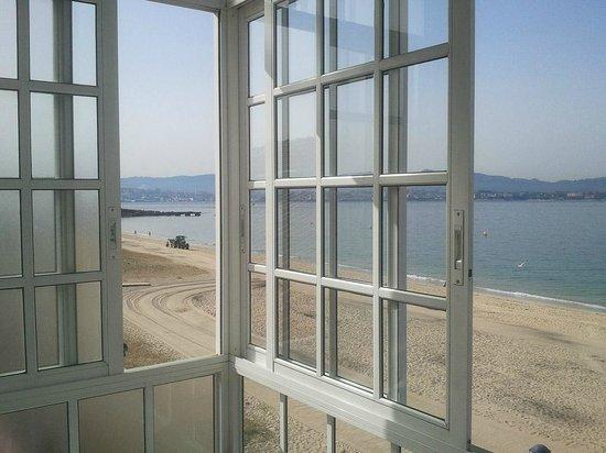 Hotel Playa :                   Vista desde la terraza