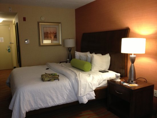 Hilton Garden Inn Arlington Courthouse Plaza:                   Nice Comfy Room