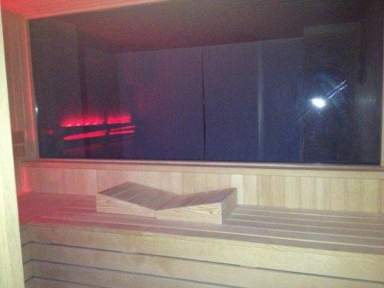 Adenya Hotel:                   private sauna in deluxe room