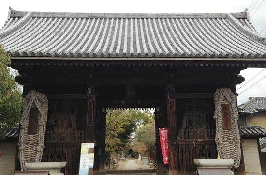 Shidoji Temple:                   仁王門