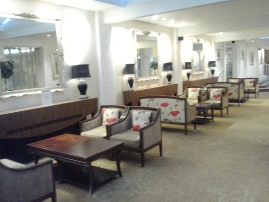 Champneys Springs Health Resort:                   this one of the lounge areas.