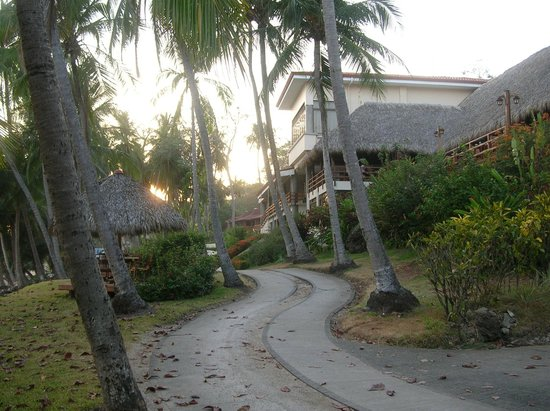 Tango Mar Beachfront Boutique Hotel & Villas:                   driveway to/from our room to hotel