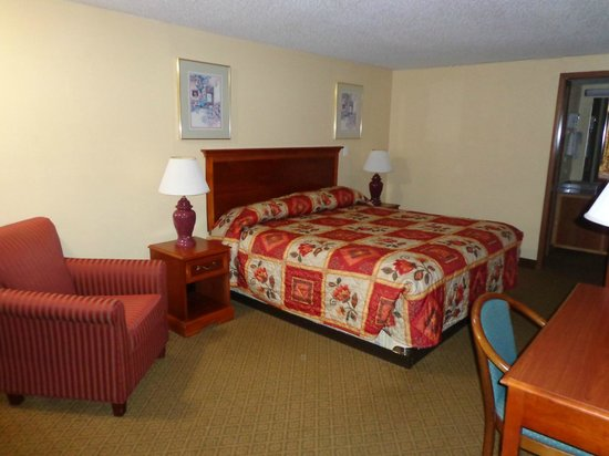 Knights Inn Martinsburg: Non-Smoking King Room