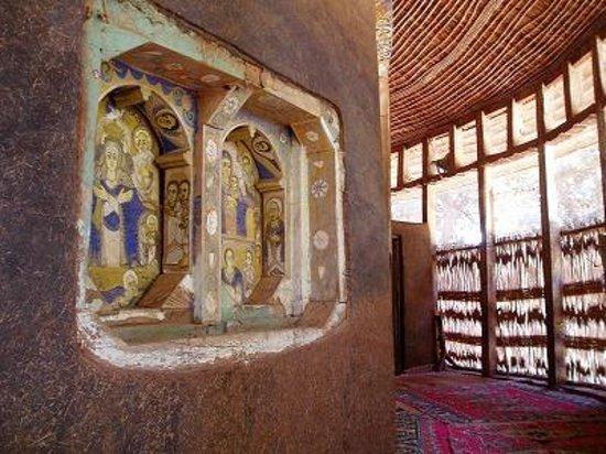Amhara Region, Etiopia:                   かわいらしい宗教画