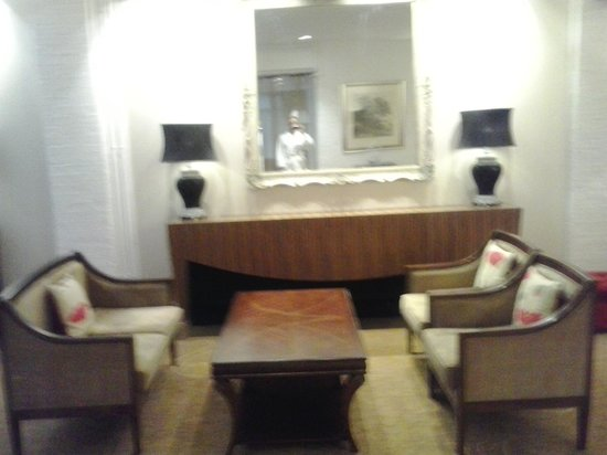 Champneys Springs Health Resort:                   lounge area.