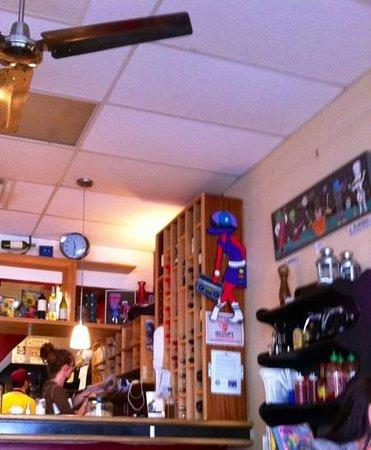 The Jones Eastside:                   bar area