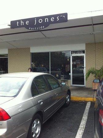 The Jones Eastside:                   outside