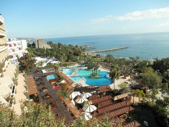 Four Seasons Hotel: noworoczny widok z hotelowego pokoju