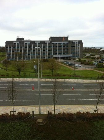 Holiday Inn Aberdeen - Exhibition Centre:                   View from room