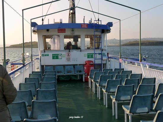 Donegal Town, Irlanda:                   upper deck