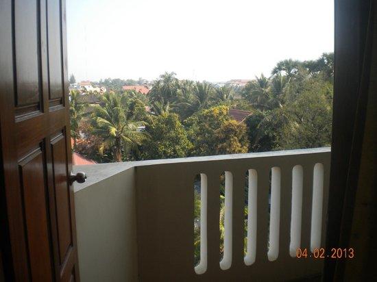 Siem Reap Temple Villa:                   Terraza