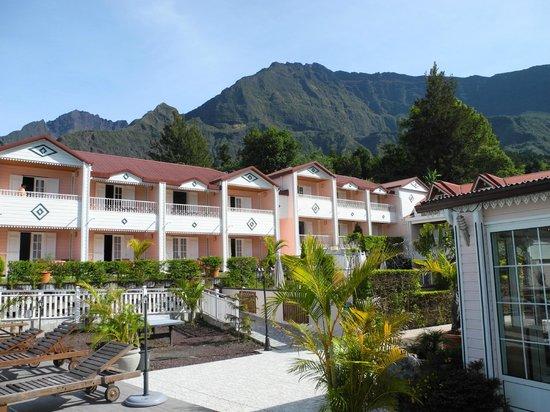 Hotel des Neiges :                                     vue des chambres
