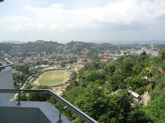 The Peak Residence:                   The view