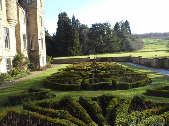 Carberry Tower Mansion House and Estate:                   Garden