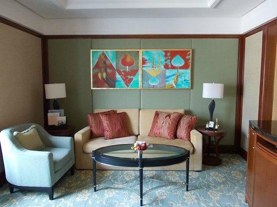 Shangri-La Hotel,Bangkok:                   洗練された雰囲気