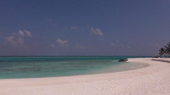 Summer Island Maldives:                   Beach just outside Superior Room 230, what a view.
