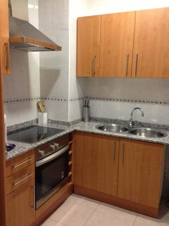 Grandom Suites:                   kitchen