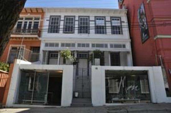 Mm 450 Hotel Boutique :                   Una vista del Hostel desde la calle