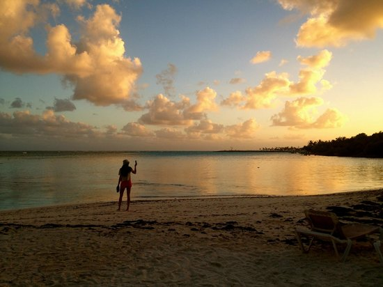 Fishing Lodge Cap Cana:                                                       Sunset
