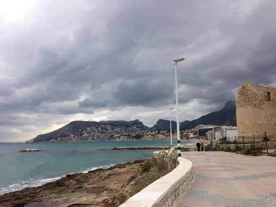 Gran Hotel Sol y Mar:                   promenade